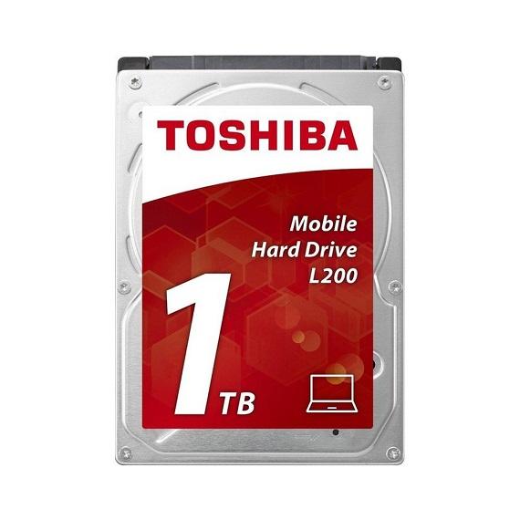 Ổ cứng Notebook HDD Toshiba L200 1TB 5400rpm (HDWL110UZSVA) 2.5 inch SATA III
