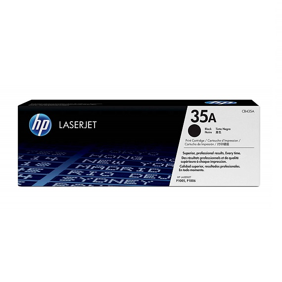 Mực in HP 35A (CB435A) dủng cho máy in HP LaserJet P1005 / P1006