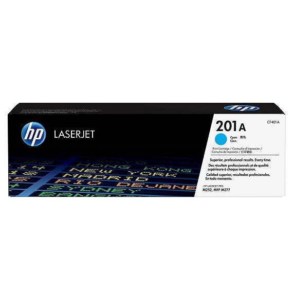 Mực in HP 201A (CF401A) màu xanh dùng cho máy HP PRO 200 M252N/ M274/ M277