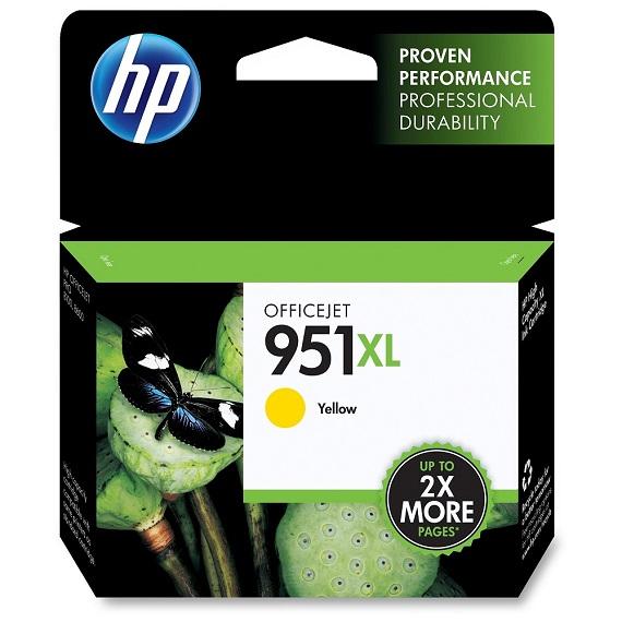 Mực in HP 951XL (CN048A) Màu vàng dùng cho HP 8100, 8600 , 276DW , 251DW