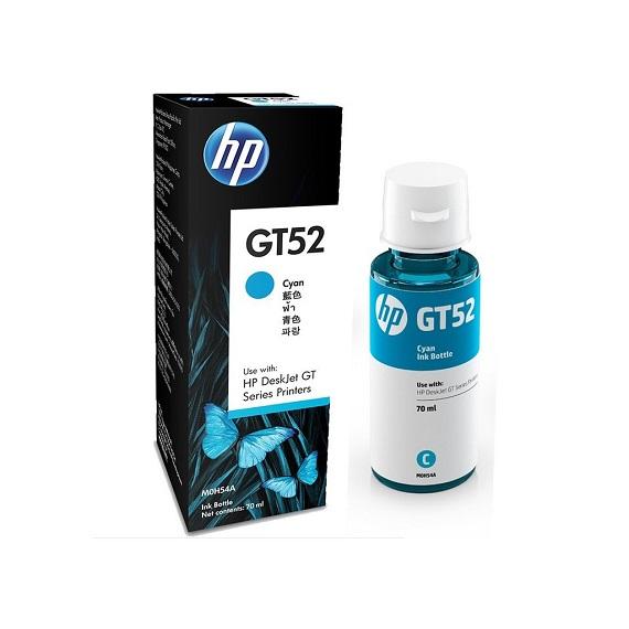 Mực in phun màu xanh GT52 (M0H54AE) dùng cho máy HP 5810, 5820, HP Ink Tank 310 (Z6Z11A)