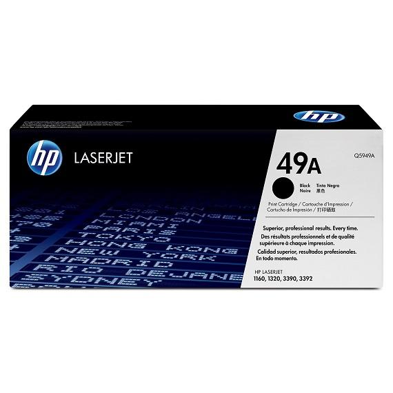 Mực in HP 49A (Q5949A) dùng cho máy HP LaserJet 1160/ 1320/ 3390/ 3392