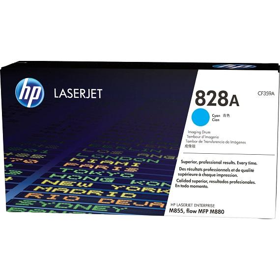 Cụm trống HP 828A (CF359A) (Drum) màu xanh cho máy in Laser màu HP M855, M880