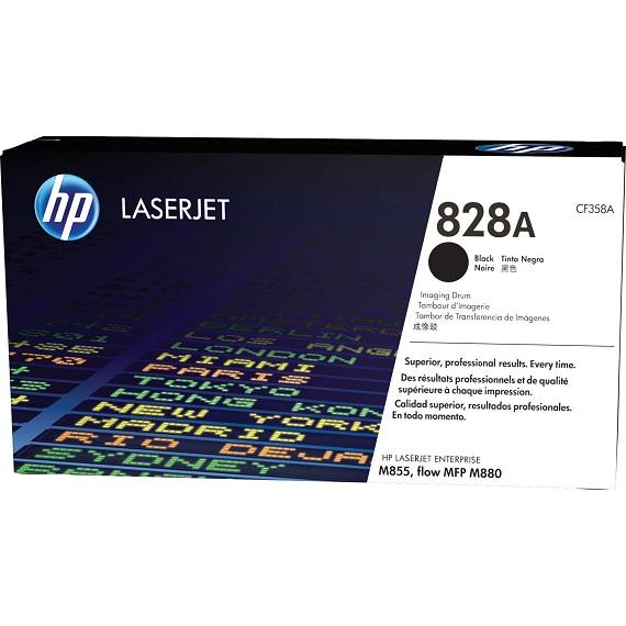 Cụm trống HP 828A (CF358A) (Drum) màu đen cho máy in Laser màu HP M855, M880