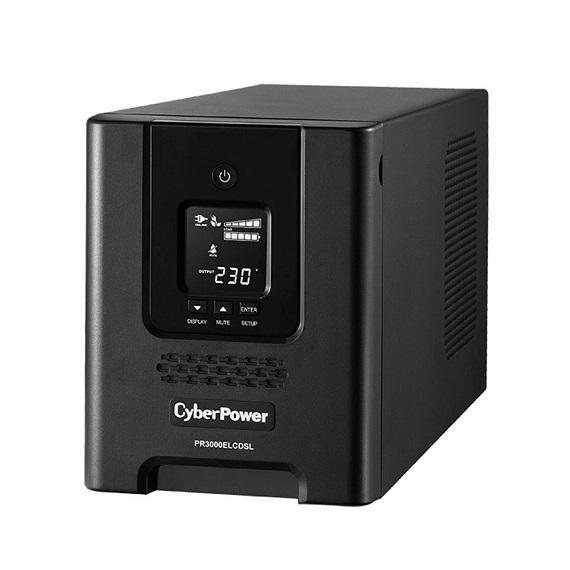 Bộ Lưu Điện UPS CyberPower PR3000ELCDSL 3000VA/2700W Chính Hãng