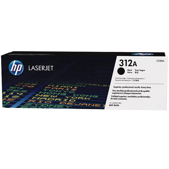 Mực in HP 312A (CF380A) màu đen dùng cho máy HP Color LaserJet Pro MFP M476nw