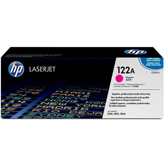 Mực in HP 122A (Q3963A) màu hồng dùng cho máy in HP CLJ 2550