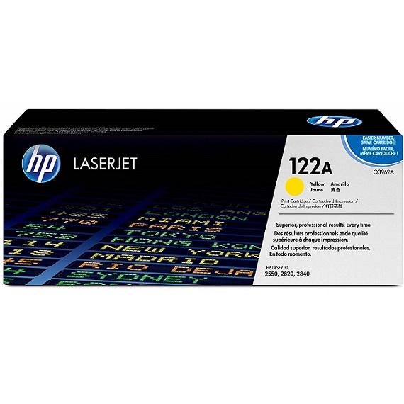 Mực in HP 122A (Q3962A) màu vàng dùng cho máy in HP CLJ 2550