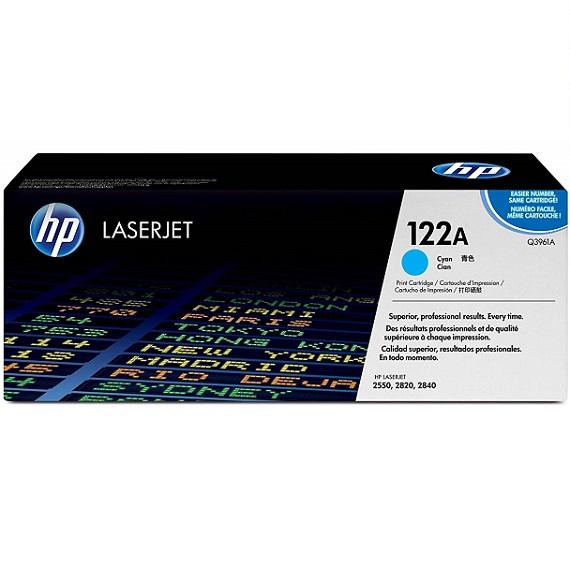 Mực in HP 122A (Q3961A) màu xanh dùng cho máy in HP CLJ 2550