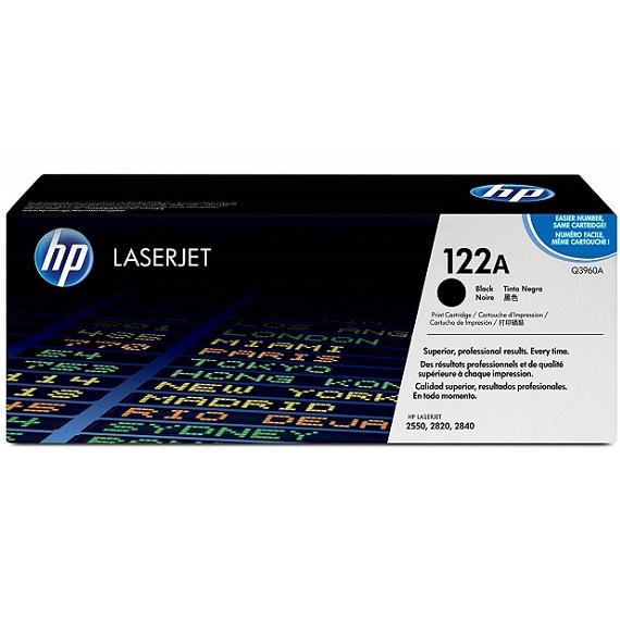 Mực in HP 122A (Q3960A) màu đen dùng cho máy in HP CLJ 2550