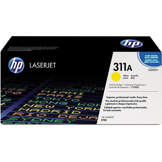 Mực in HP 311A (Q2682A) màu vàng dùng cho máy in HP CLJ 3700