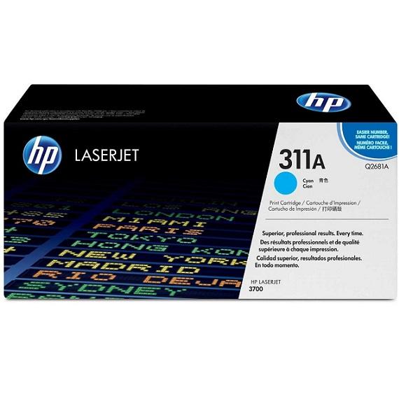 Mực in HP 311A (Q2681A) màu xanh dùng cho máy in HP CLJ 3700