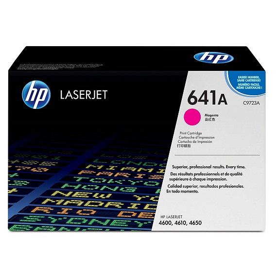 Mực in HP 641A (C9723A) màu hồng dùng cho máy in HP CLJ 4600 / 4650