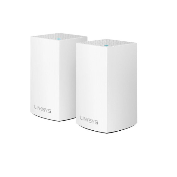 Router Linksys WHW0102  Velop Intelligent Mesh WiFi System, Dual-Band, 2-Pack (AC2600)
