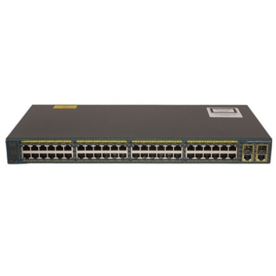 Switch Cisco SLM248PT-G5 (SF200-48P) 48-Port 10/100 PoE Smart Switch