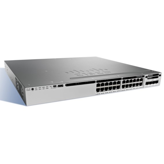 Switch Cisco WS-C3850-24P-L Cisco Catalyst 3850 24 Port PoE+ LAN Base