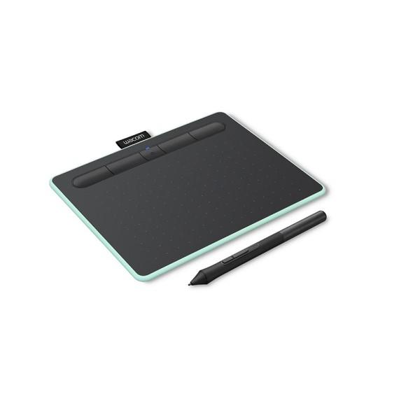 Bảng vẽ Wacom Intuos, Small Bluetooth - Pistachio (CTL-4100WL/E0-CX)