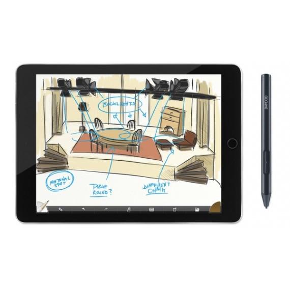 Bút cảm ứng Wacom Bamboo Sketch (CS-610P/K0-CX)