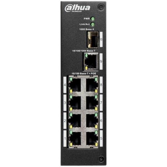 8 port 10/100Mbps PoE Switch DAHUA PFS3110-8P-96