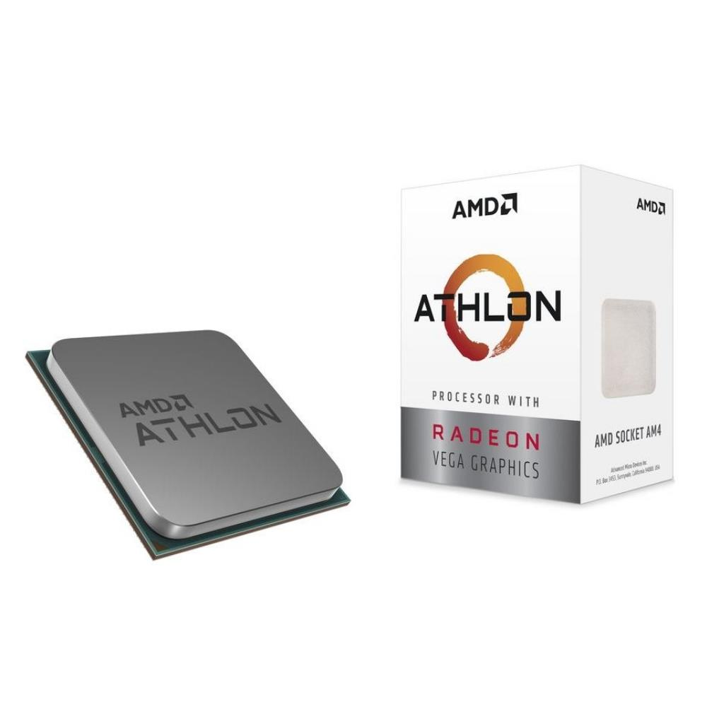 CPU AMD Ryzen Athlon 200GE (2C/4T, 3.2 GHz, 4MB) - AM4