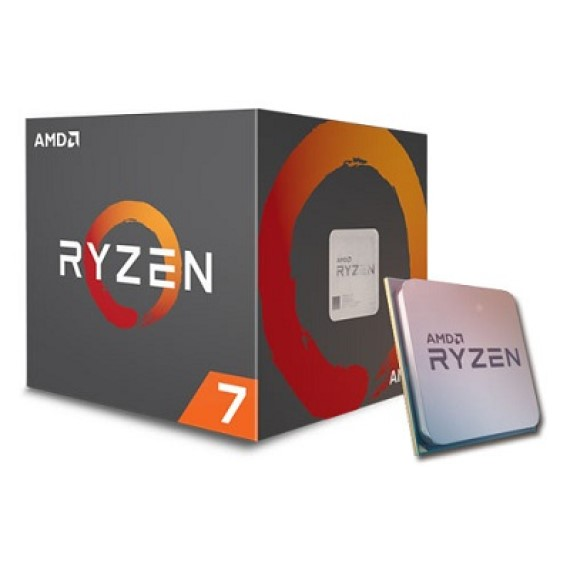 CPU AMD Ryzen R7 1700X (3.4GHz - 3.8GHz)