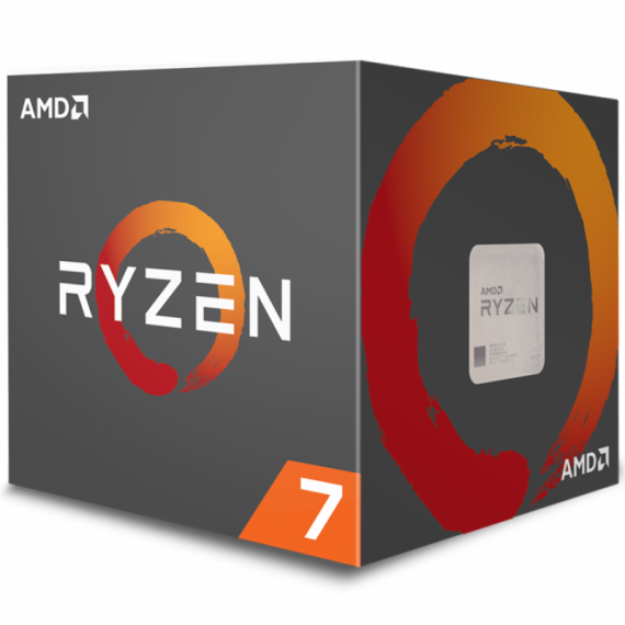 CPU AMD Ryzen 7 2700 (8C/16T, 3.2 GHz - 4.1 GHz, 16MB) - AM4
