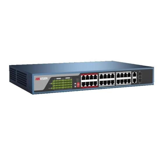 Switch POE 16 cổng 100M HIKVISION DS-3E0318P-E(B)