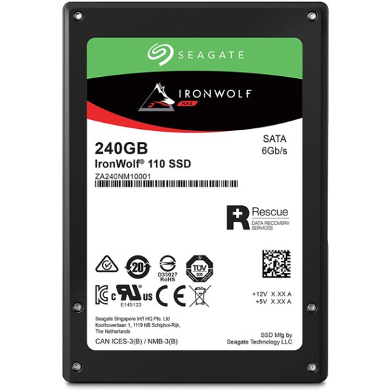 SSD 240GB Seagate IronWolf 110 Enterprise ZA240NM10011