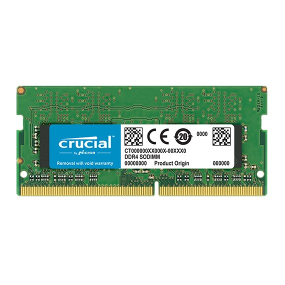 RAM Laptop 4GB Crucial CT4G4SFS8266