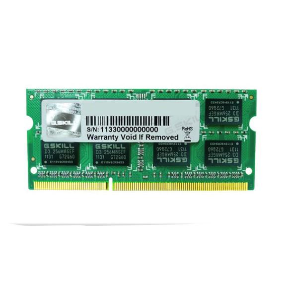 RAM Laptop 8GB G.Skill F3-10666CL9S-8GBSQ Bus 1333