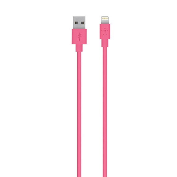 Cable Air Lightning Belkin F8J023BT04-PNK