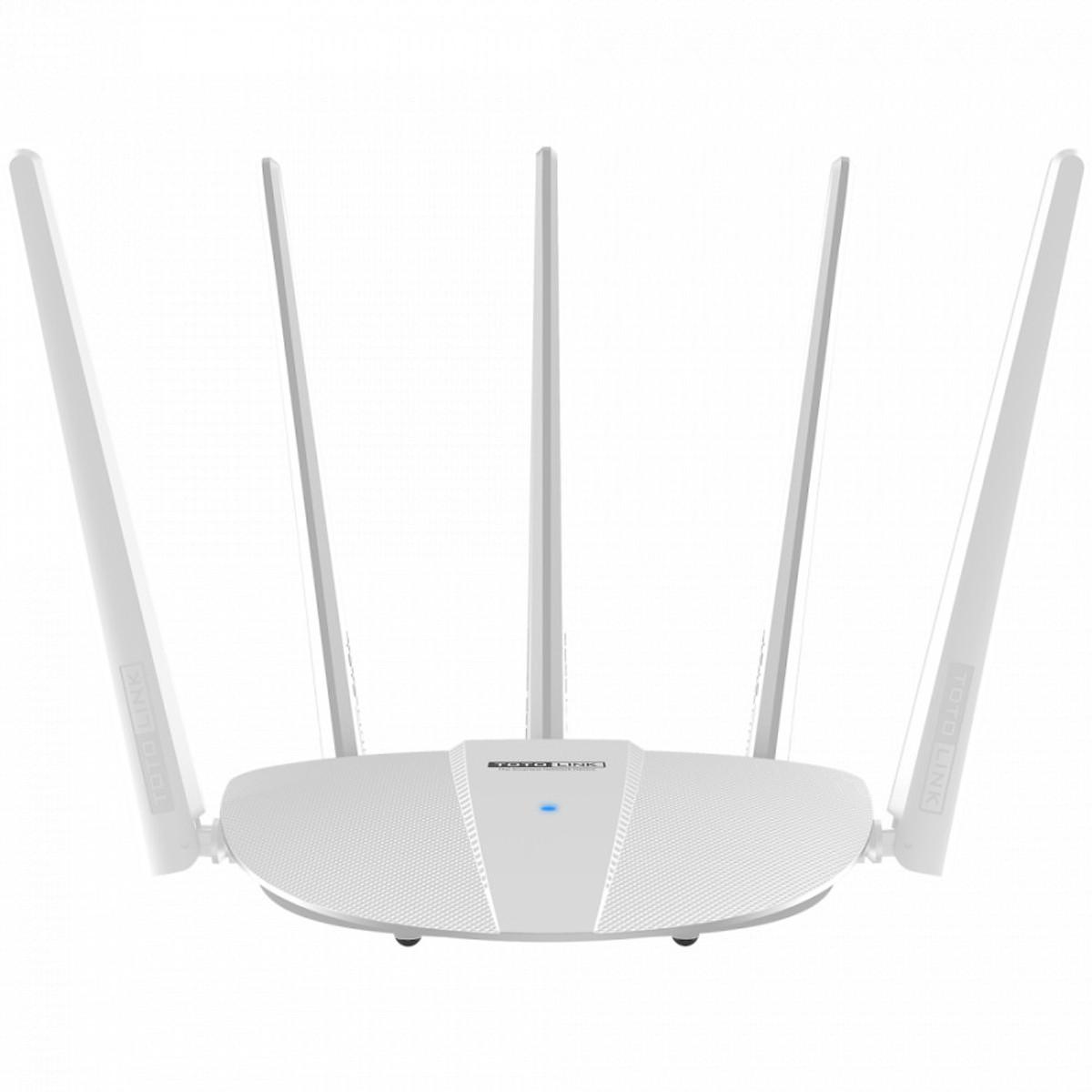Router Wi-Fi băng tần kép chuẩn AC1200 Totolink A810R