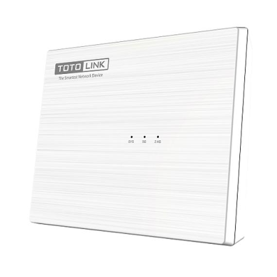 Router Wi-Fi băng tần kép chuẩn AC1200 Totolink A830R
