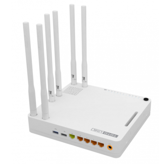 Router Wi-Fi băng tần kép chuẩn AC1900 – Totolink A6004NS