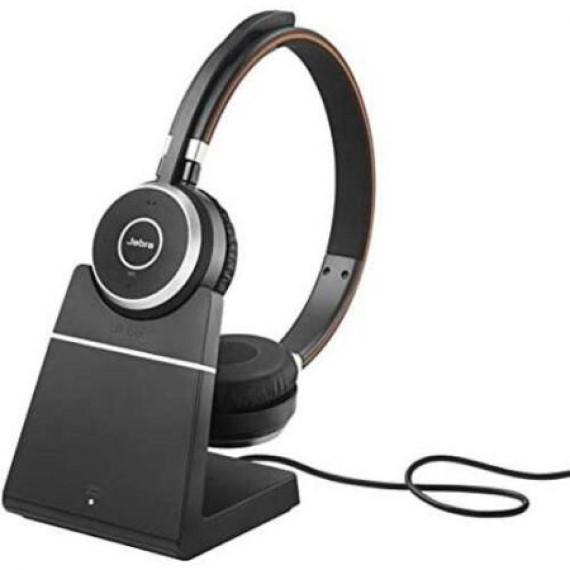 Tai nghe Jabra Evolve 75 incl. charging stand MS Stereo Không dây
