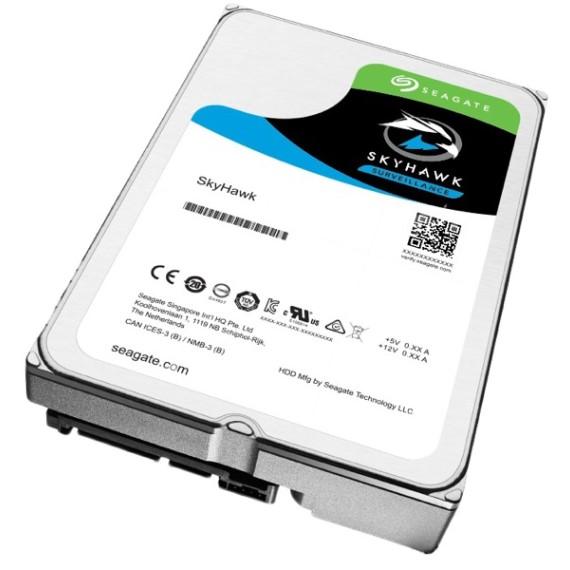 Ổ cứng HDD Seagate SkyHawk 8TB - ST8000VX004 (Dùng cho Camera)
