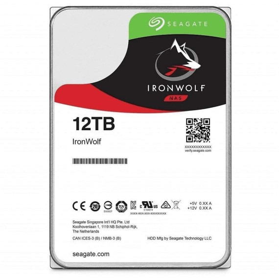 Ổ cứng HDD Seagate IRONWOLF 10TB 3.5