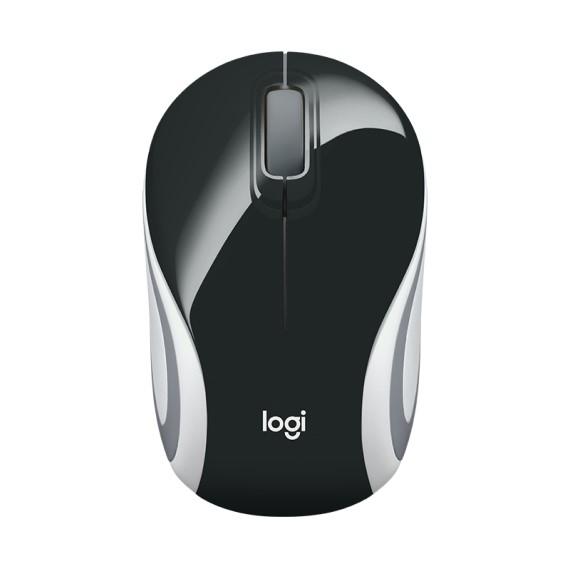 Chuột máy tính không dây Logitech M187 (Đen)