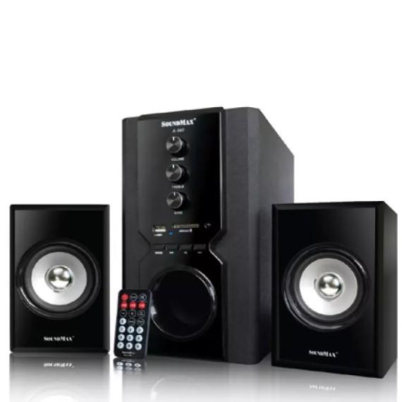 Loa bluetooth 2.1 SoundMAX A960 (Đen)