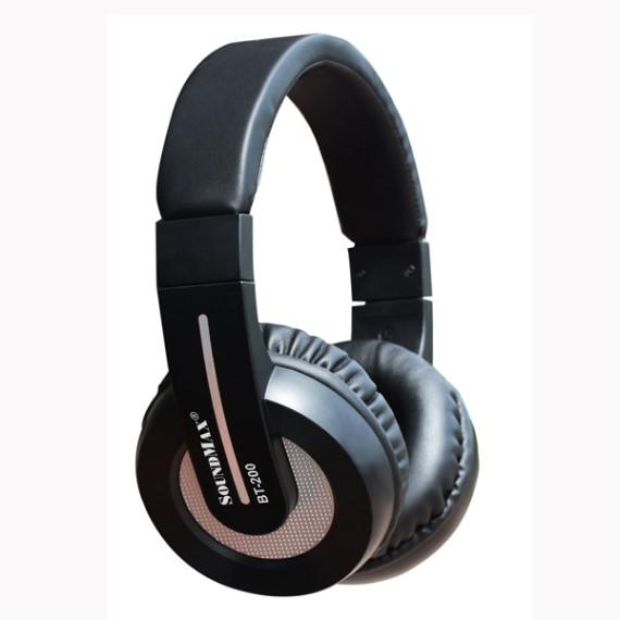 Tai nghe không dây Headphone On-ear Soundmax BT200 (Đen)