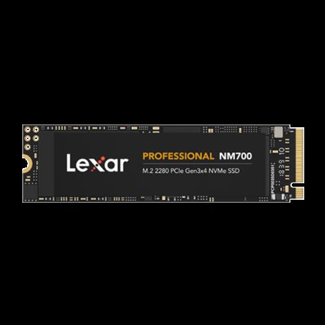 Ổ cứng gắn trong 256GB SSD NM700 M.2 2280 NVMe Lexar - LNM700- 256RB
