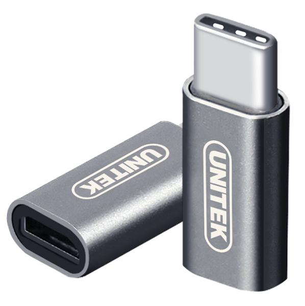 ĐẦU ĐỔI TYPE-C ->MICRO USB UNITEK (Y-A 027AGY)