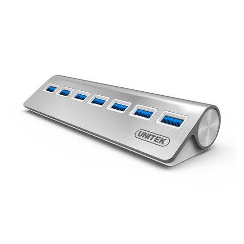 Bộ chia USB 3.0 7 cổng chính hãng Unitek Y-3187