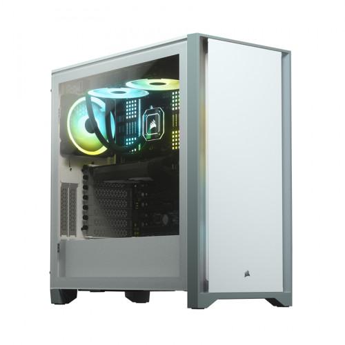 Vỏ máy tính Corsair 4000D TG White