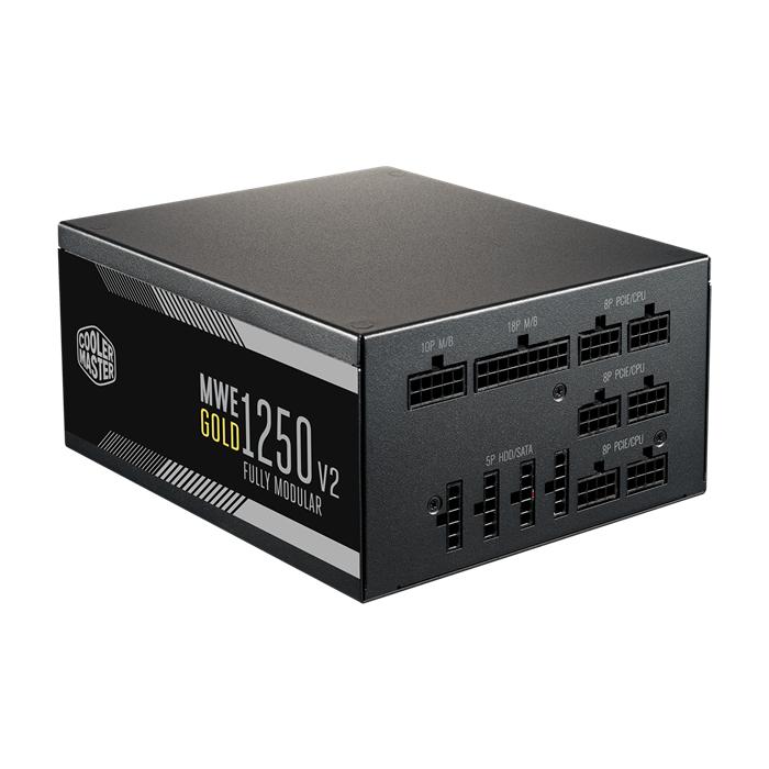 Nguồn Cooler master MWE GOLD 1250W - V2 Fully modular
