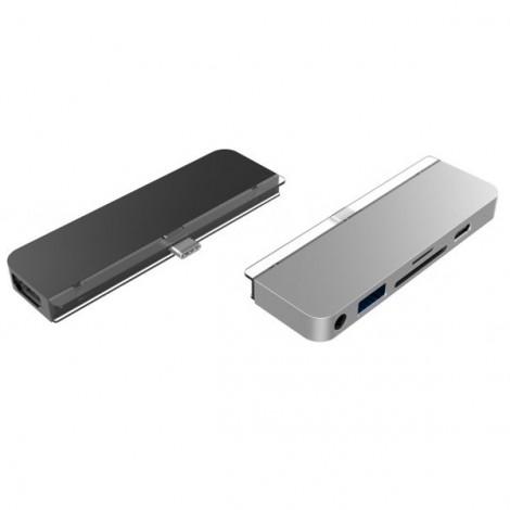 Cổng chuyển chuyên dụng Hyperdrive 6 in 1 HDMI 4K/60hz USB-C HD319B