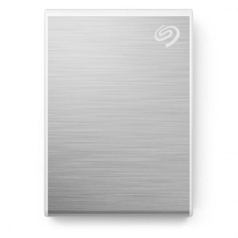 Ổ Cứng Di Động SSD 500GB Seagate One Touch USB-C + Rescue STKG500401 (Bạc)
