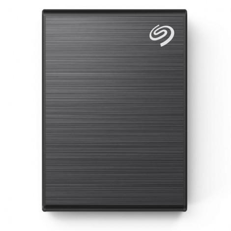 Ổ Cứng Di Động SSD 500GB Seagate One Touch USB-C + Rescue STKG500400 (Đen)
