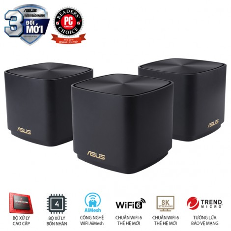 Router Asus XD4 (W-3-PK) (Đen)