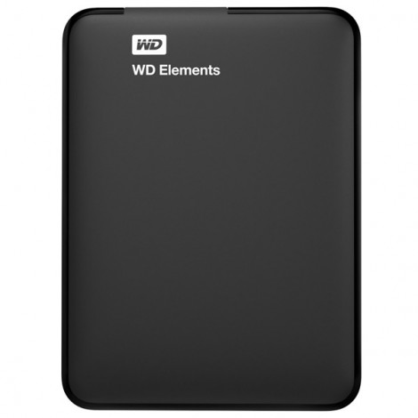 Ổ cứng di động HDD Western Digital Elements Portable 1TB 2.5' USB 3.0 - WDBUZG0010BBK-WESN (Đen)